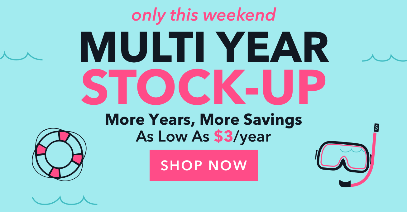 Multi-Year Stock-Up April18 HP