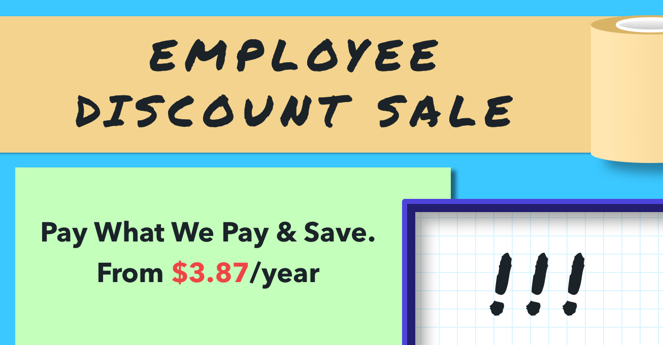 Employee Discount May18 HP