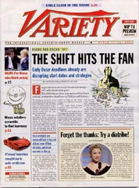 Variety Weekly Magazine Subscription