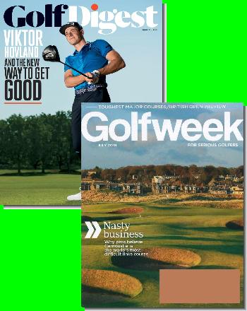 Golf Digest & Golfweek Bundle Magazine