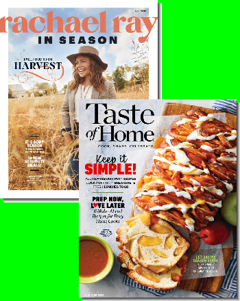 Rachael Ray + Taste of Home Deal