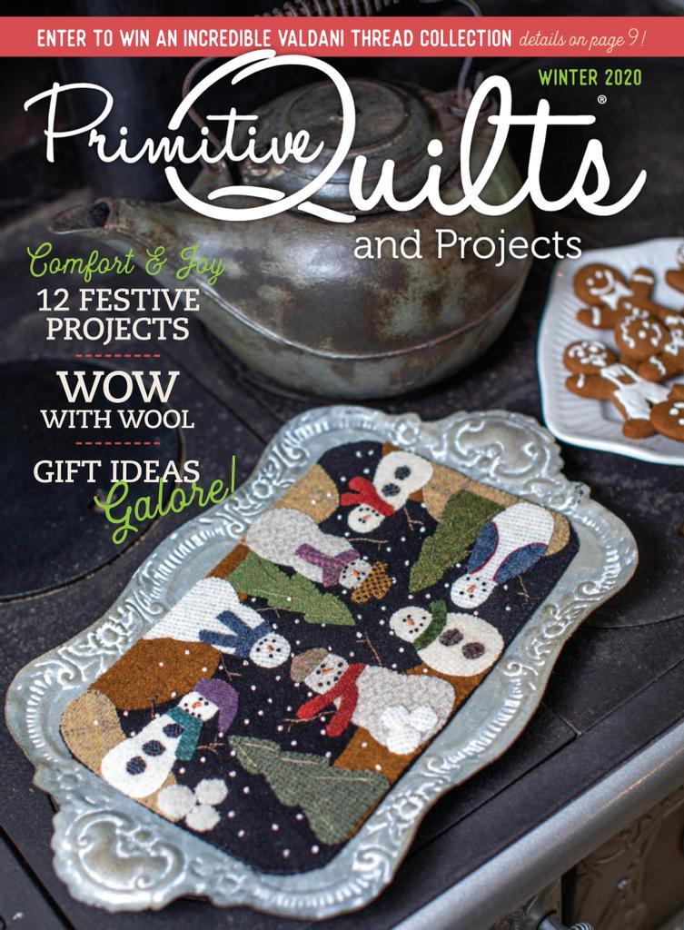 Best Price for Primitive Quilts and Projects Magazine Subscription