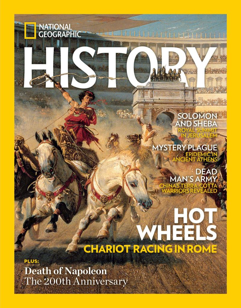 Best Price for National Geographic History Magazine Subscription
