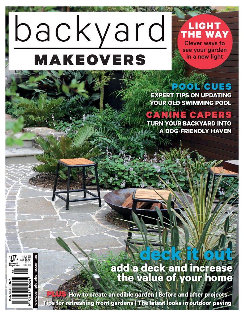 Backyard Makeovers Magazine (Digital) - DiscountMags.com