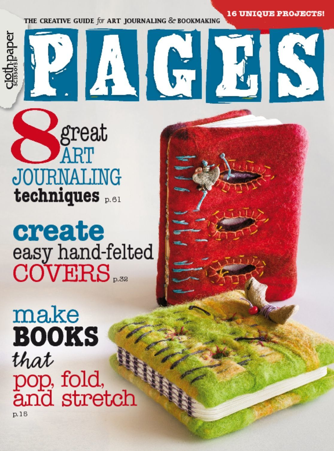 Cloth Paper Scissors Pages Magazine (Digital