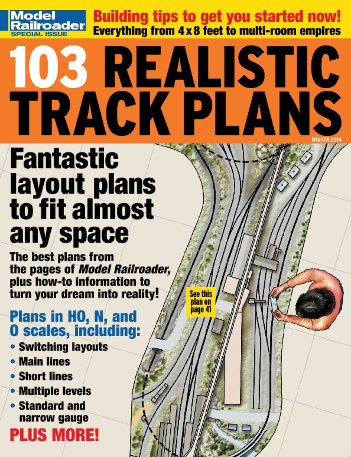 103 Realistic Track Plans Digital