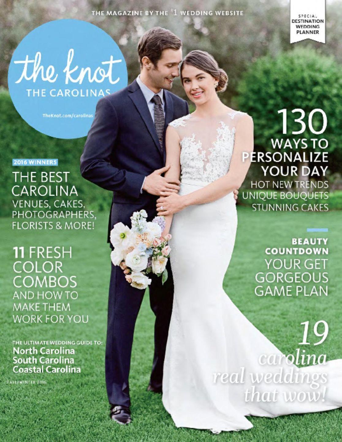 The Knot The Carolinas Weddings (digital) Magazine Cover