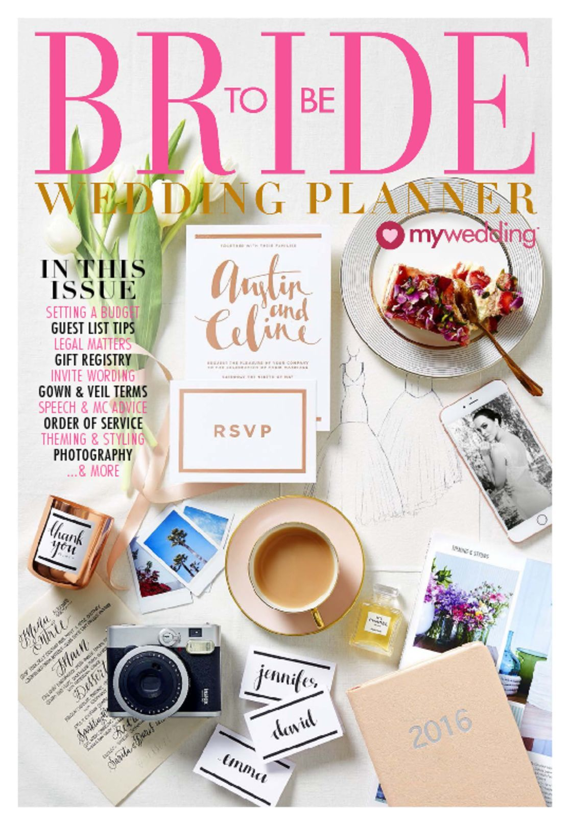 Bride To Be Wedding Planner Digital