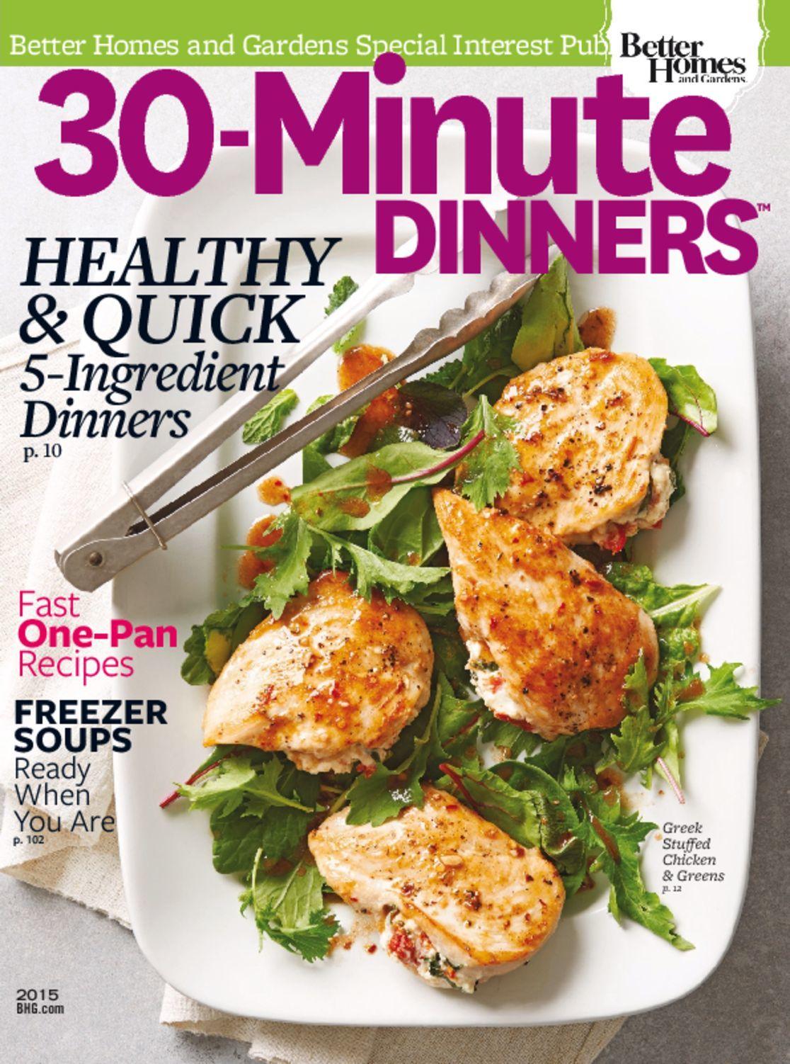 30 Minute Dinners Magazine Digital