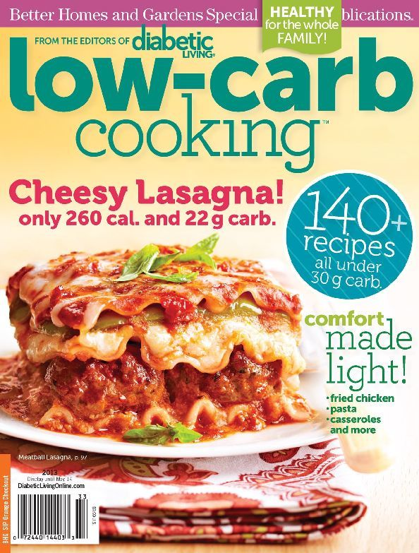 Diabetic Living Low carb Cooking Digital