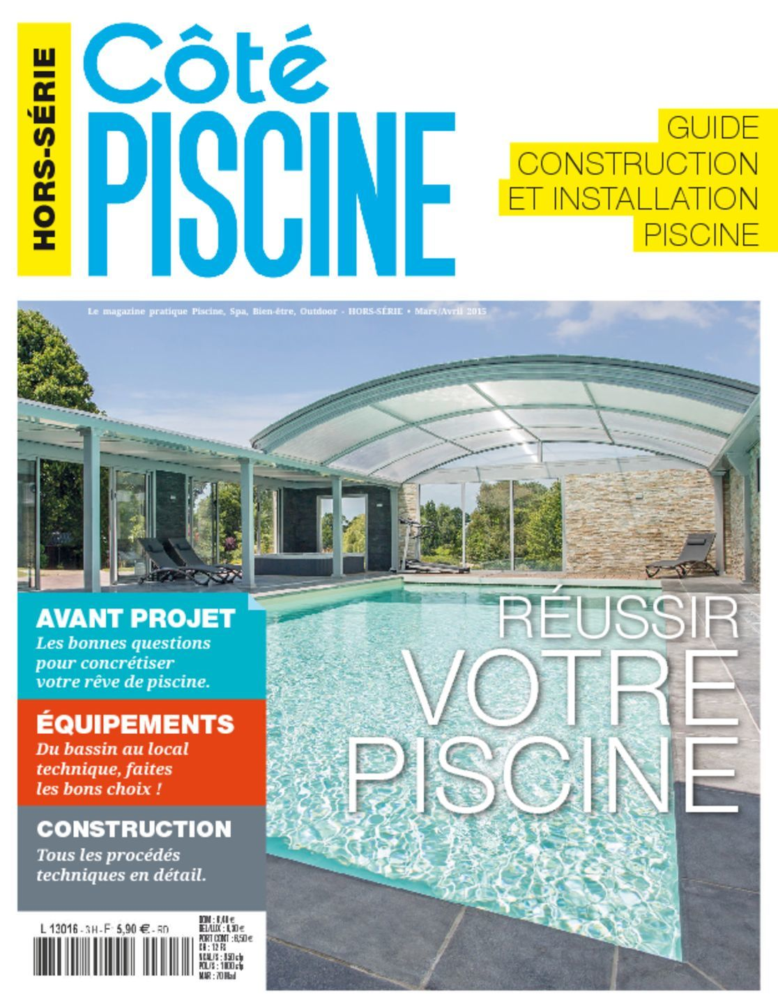 Guide construction et installation piscine magazine for Construction piscine