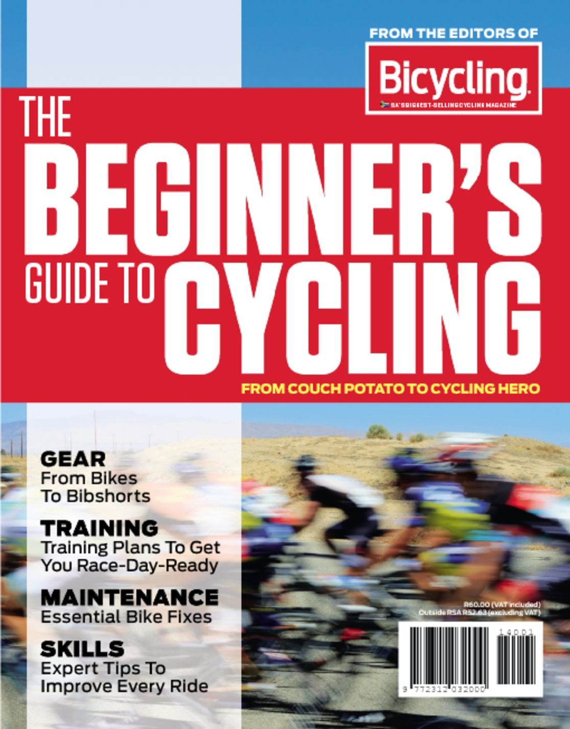 Bicycling sa s beginner s guide to cycling magazine for Sa fishing promo code free shipping