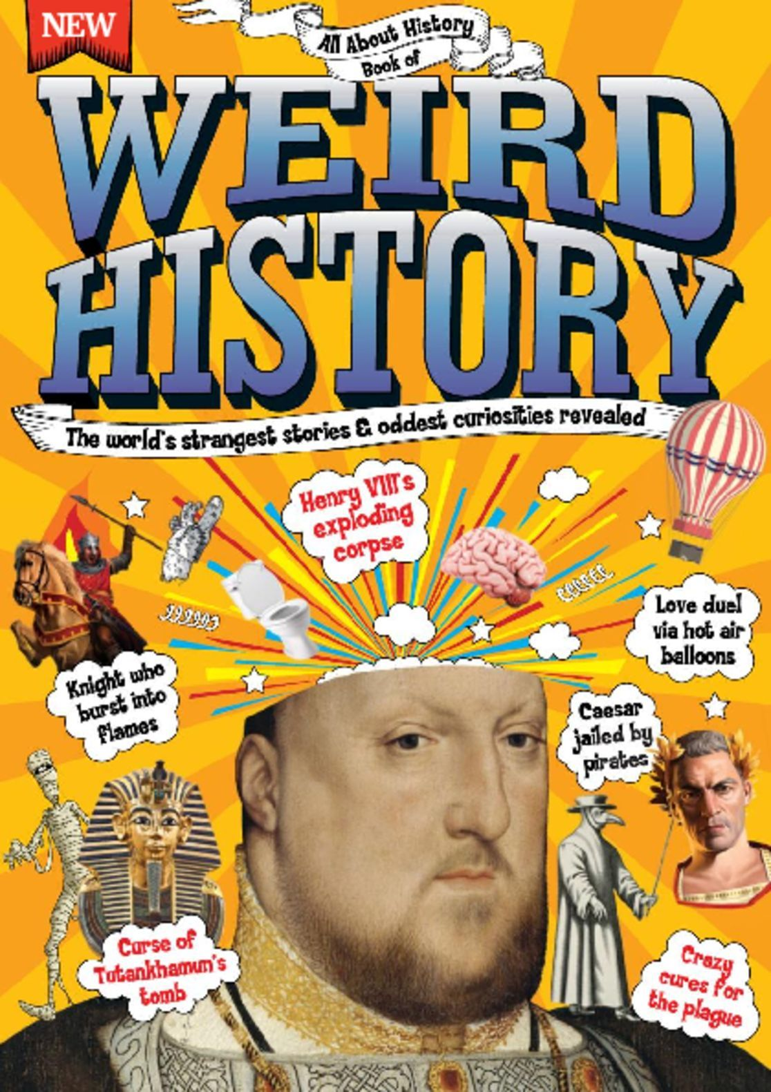 All About History Book Of Weird History Digital