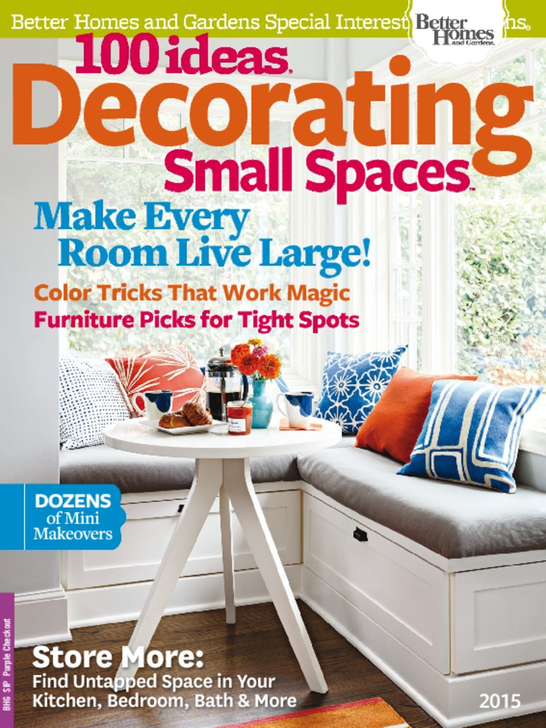 100 Ideas Decorating Small Spaces 2015 Digital