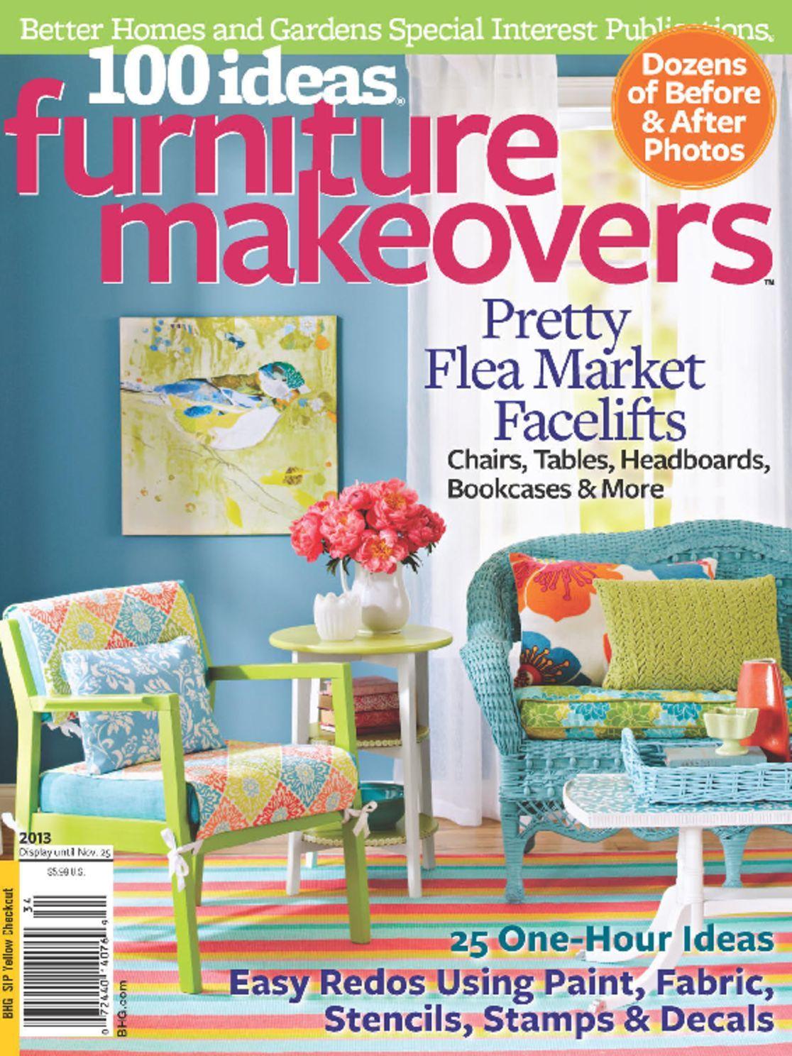100 Ideas Furniture Makeovers Digital
