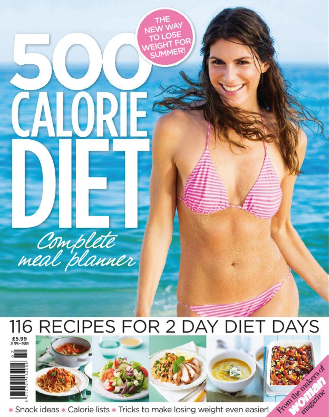 500 Calorie Diet Complete Meal Planner Digital