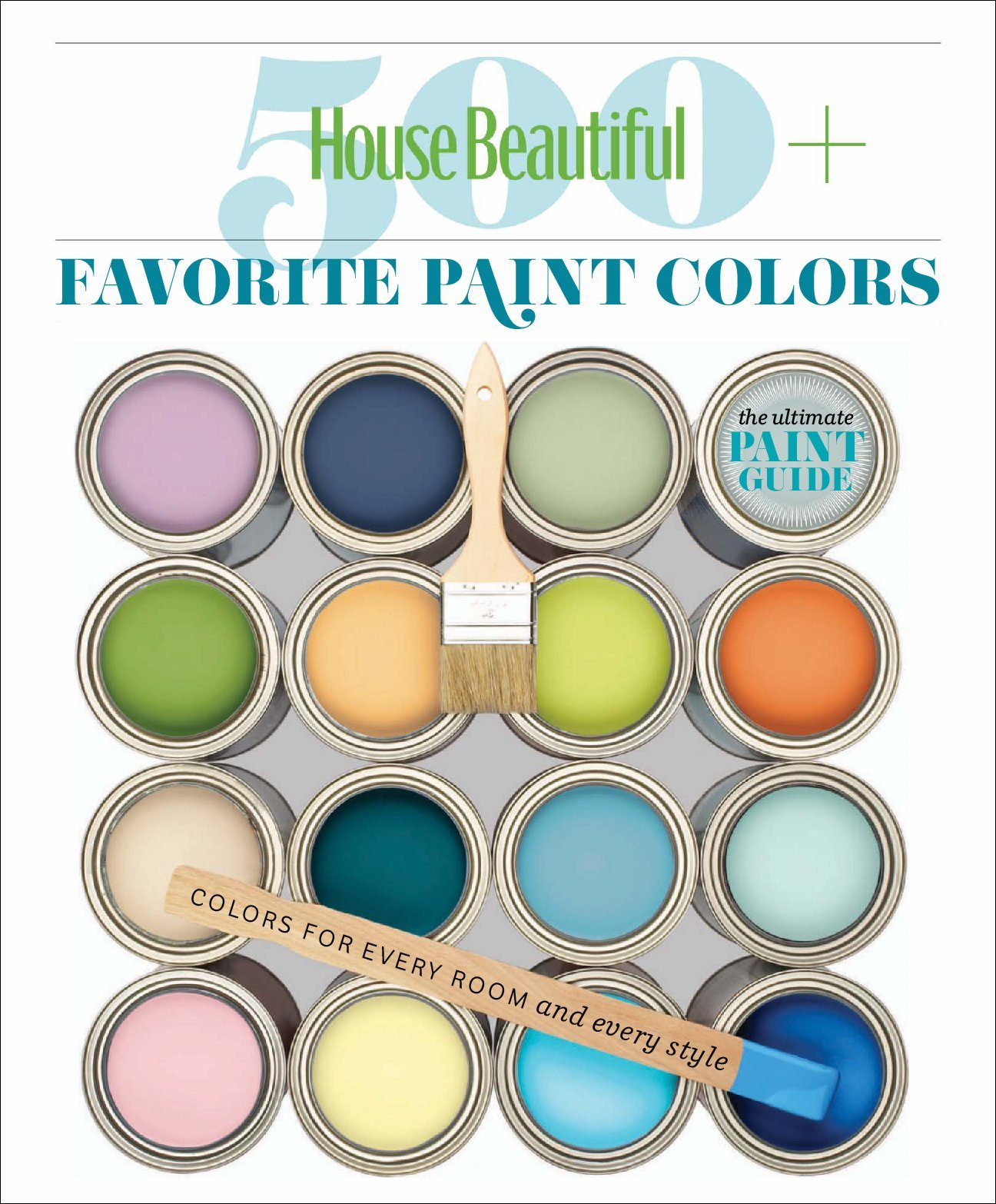 House Beautiful 500 Favorite Paint Colors Magazine