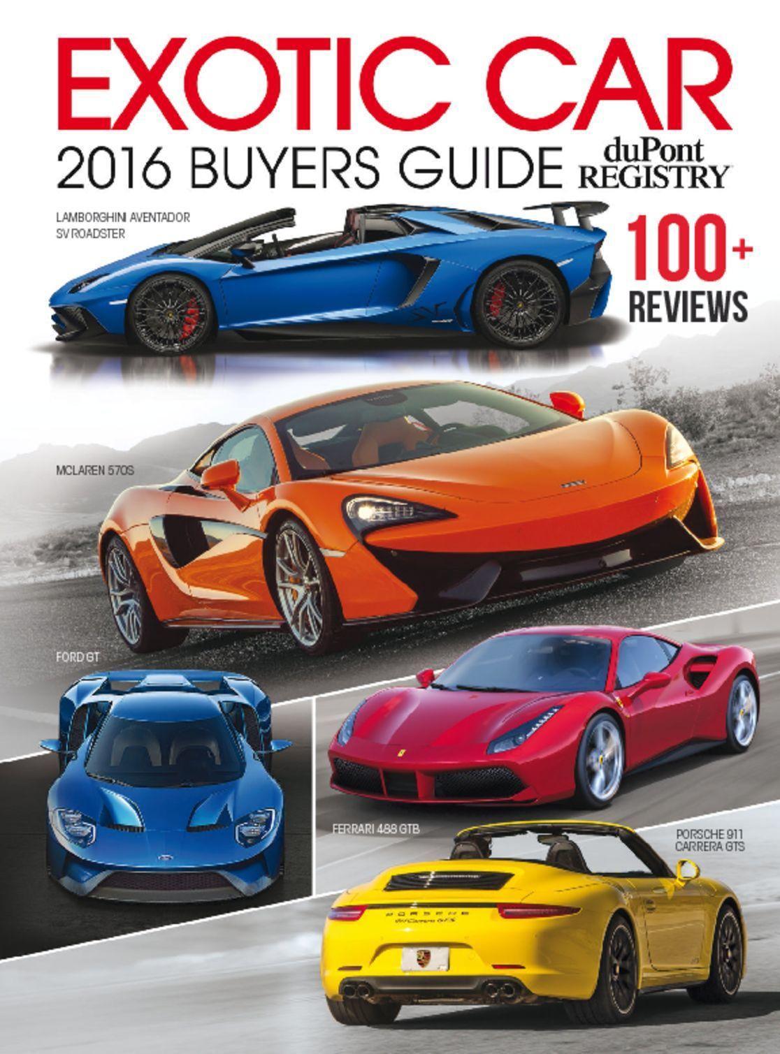 exotic car buyers guide magazine digital. Black Bedroom Furniture Sets. Home Design Ideas