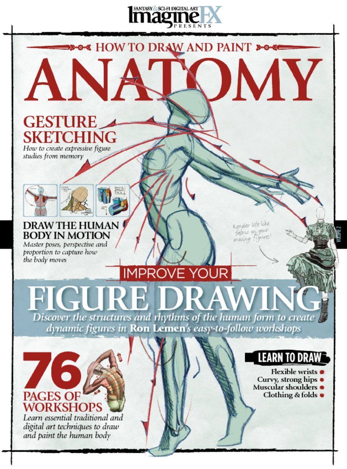 ImagineFX Presents Anatomy Magazine (Digital) - DiscountMags.com