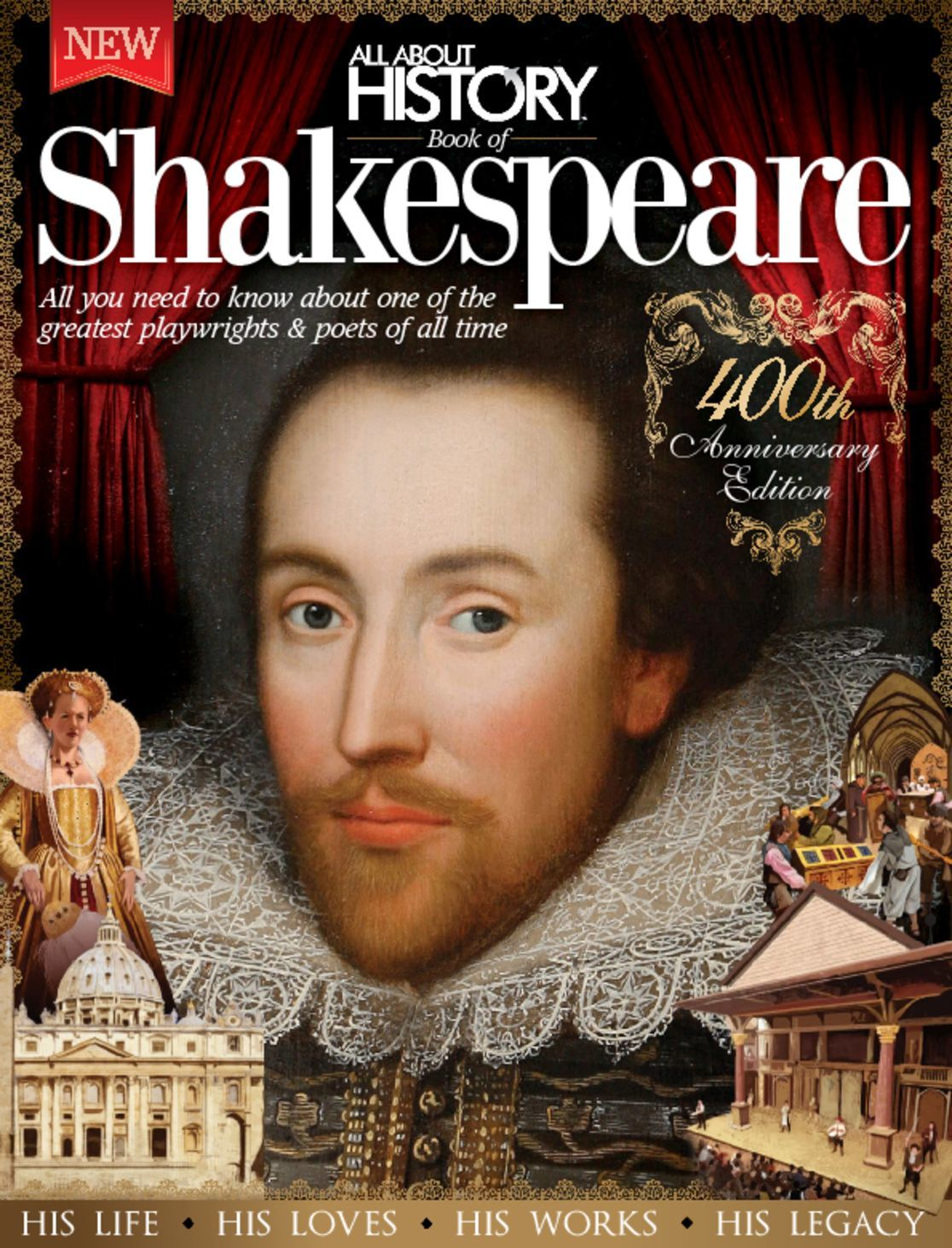 All About History Book of Shakespeare Digital