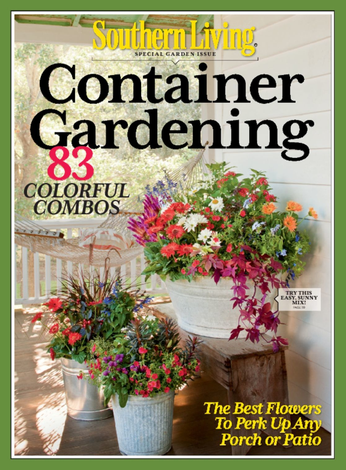 High Quality Southern Living Container Gardening Magazine (Digital)   DiscountMags.com