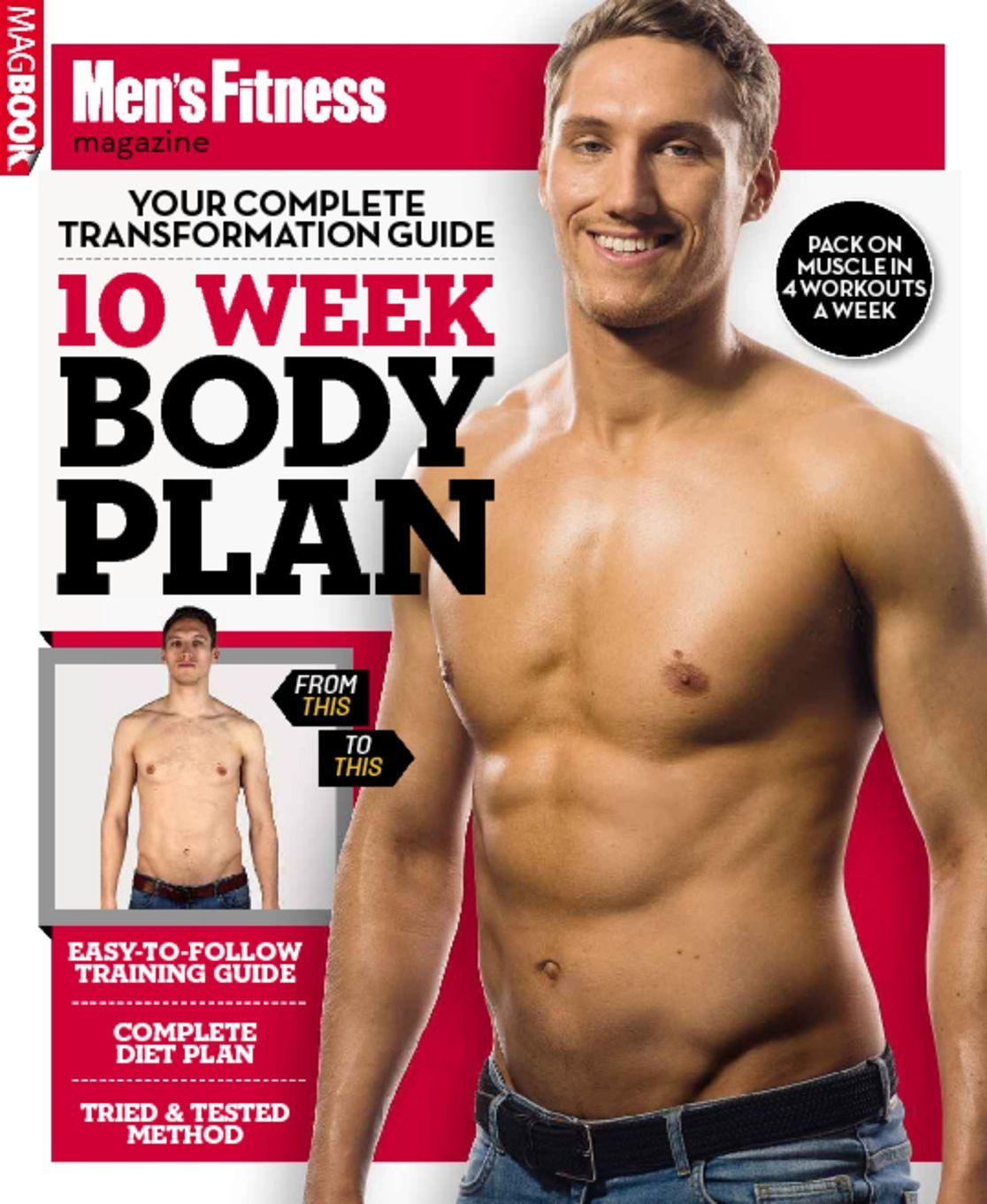 Mens Fitness 10 Week Body Plan Digital