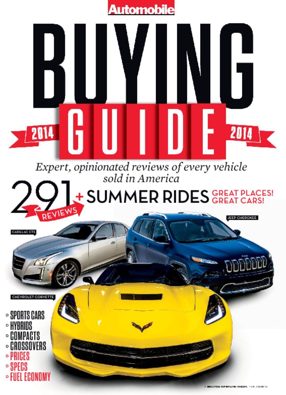 Automobile Buyers Guide Digital