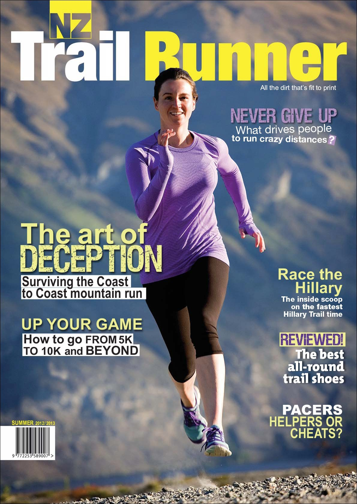 New Zealand Trail Runner Digital
