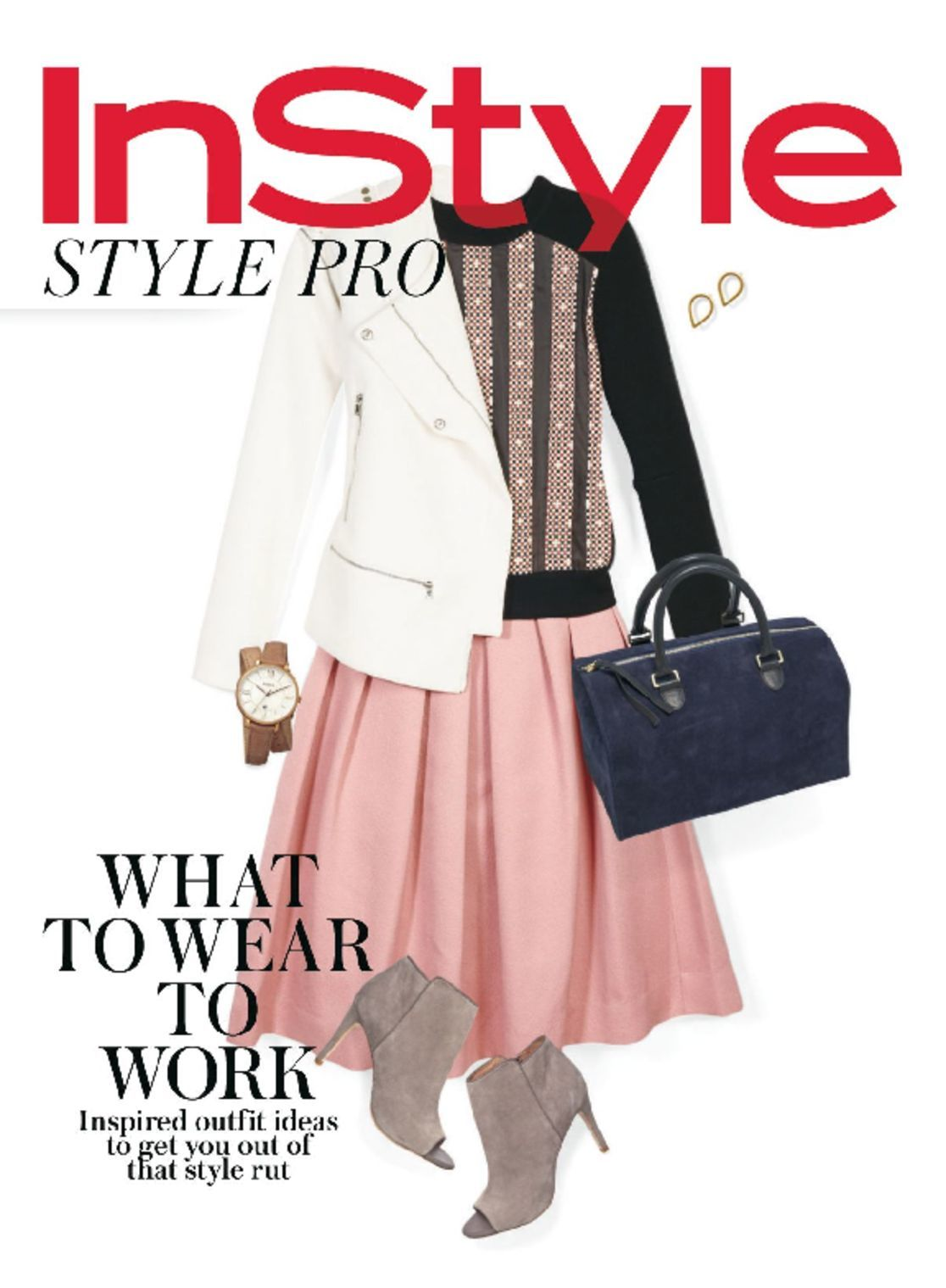 InStyle Easy Work Outfits (Digital)