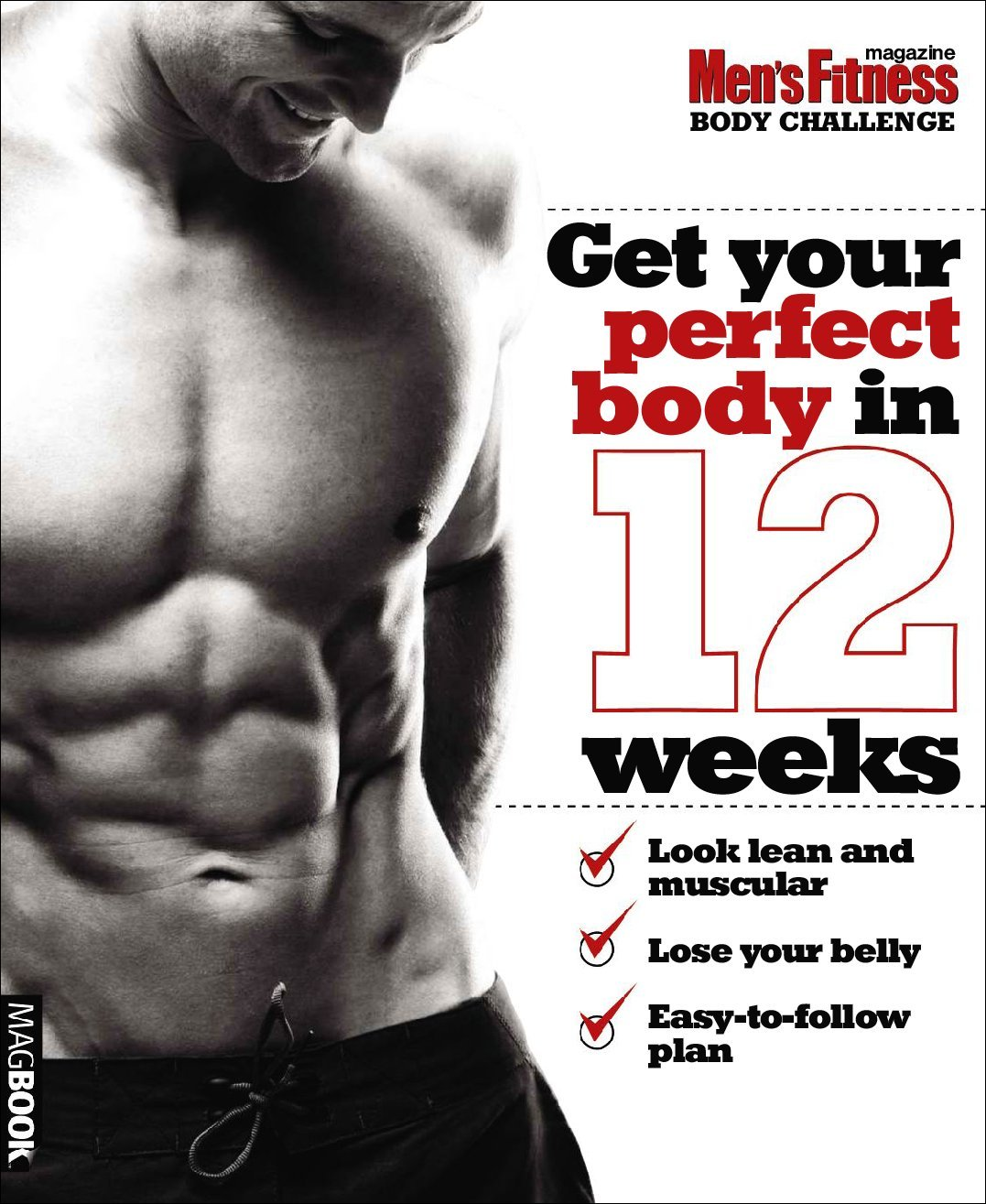 Mens Fitness Body Challenge Digital