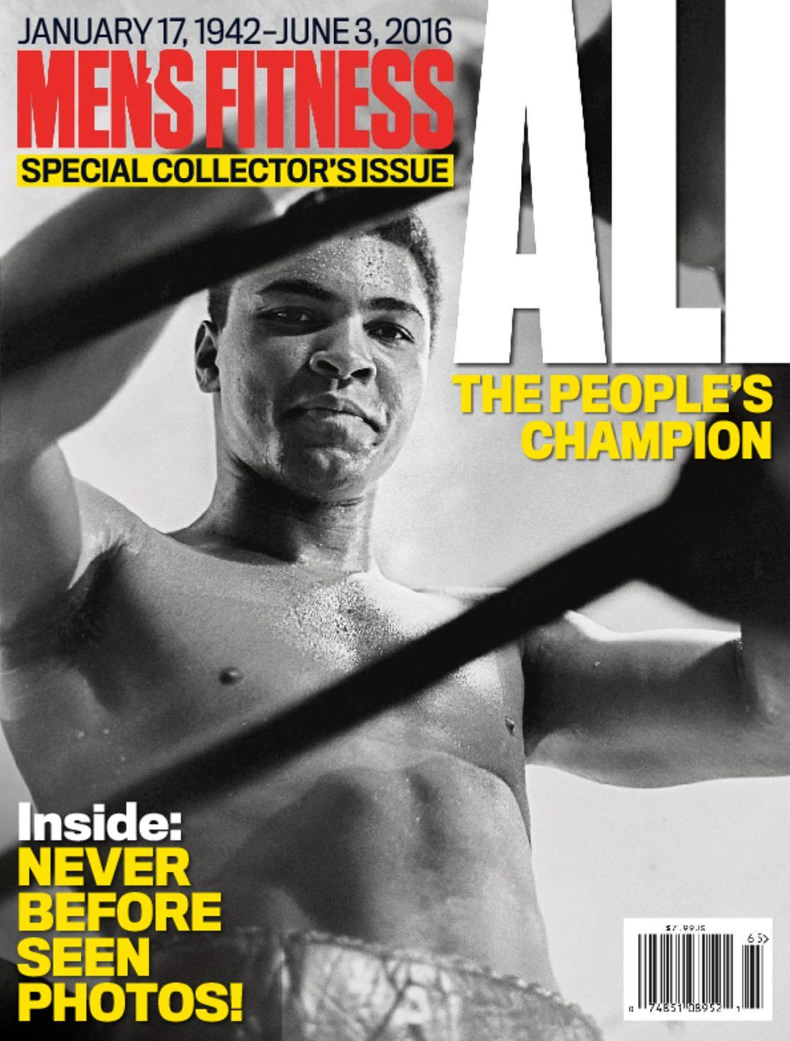 Mens Fitness Special  ALI THE PEOPLES CHAMPION Digital