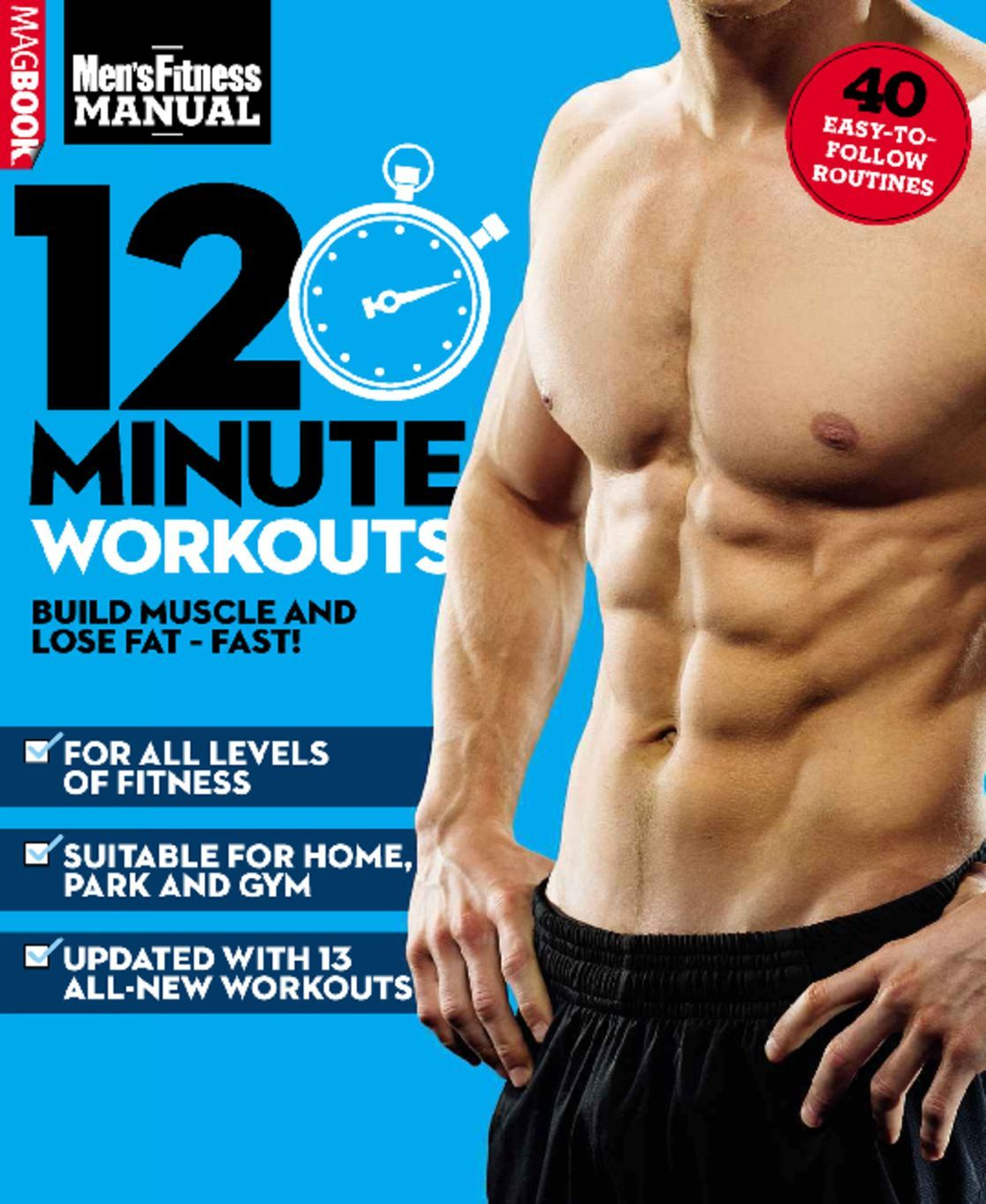 Mens Fitness 12 Minute Workouts Digital