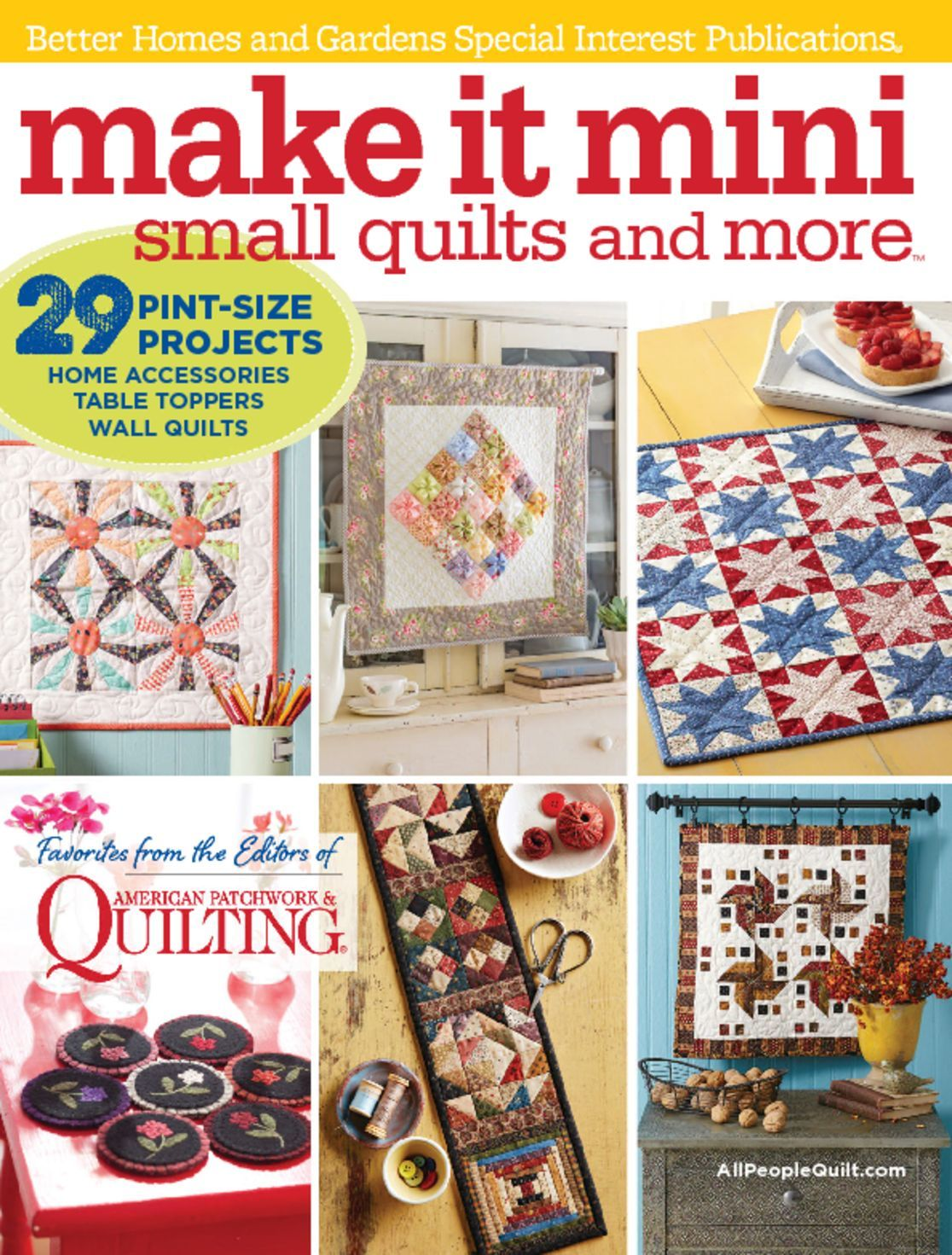 Make It Mini: Small Quilts and More 2016 (Digital)
