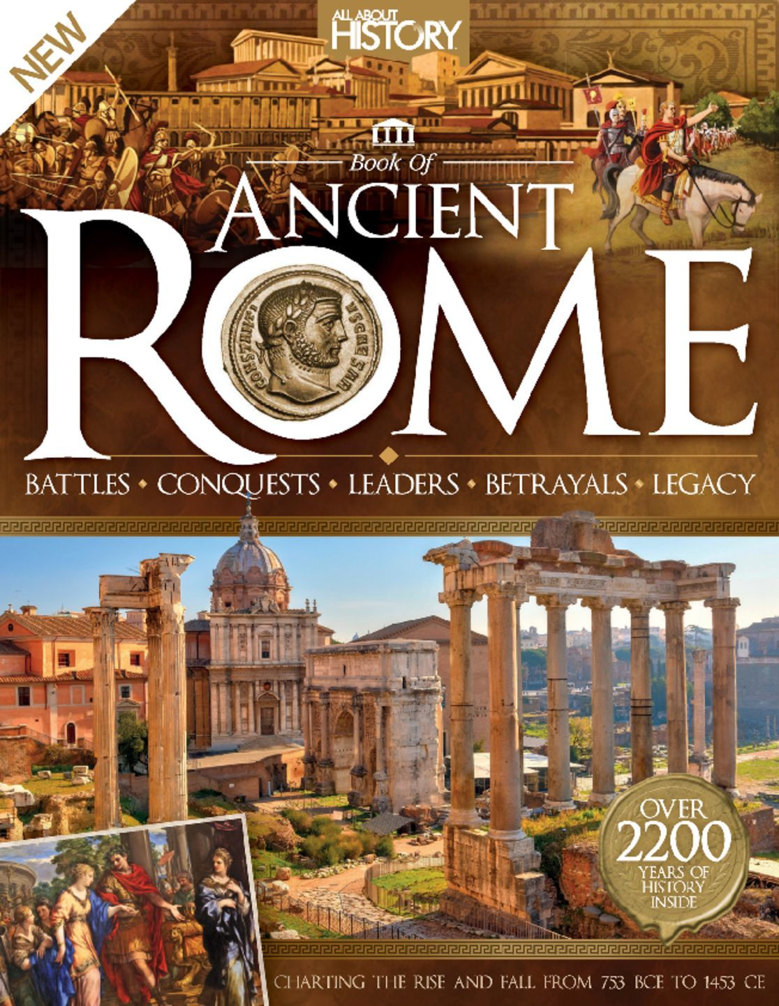 All About History Book of Ancient Rome Digital