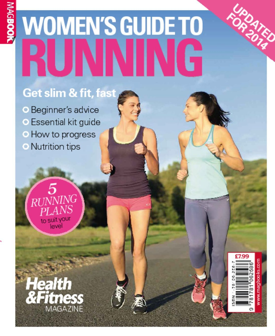 Health Fitness Womens Guide to Running Digital