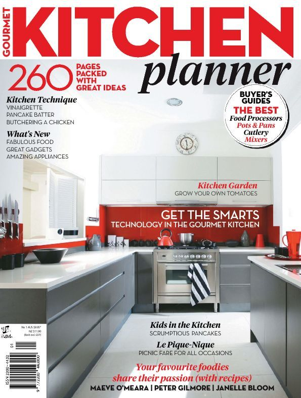 Gourmet Kitchen Planner (Digital)