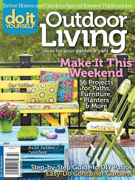 do it yourself outdoor living digital magazine subscription ca. Black Bedroom Furniture Sets. Home Design Ideas