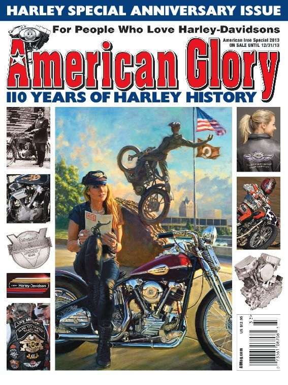 American Glory 110 Years of Harley Davidson Digital