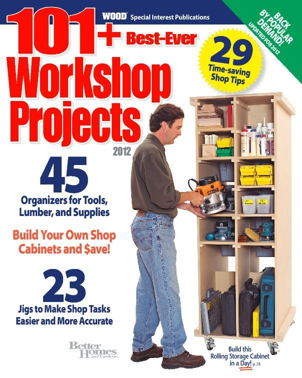 101 Best Ever Workshop Projects Digital
