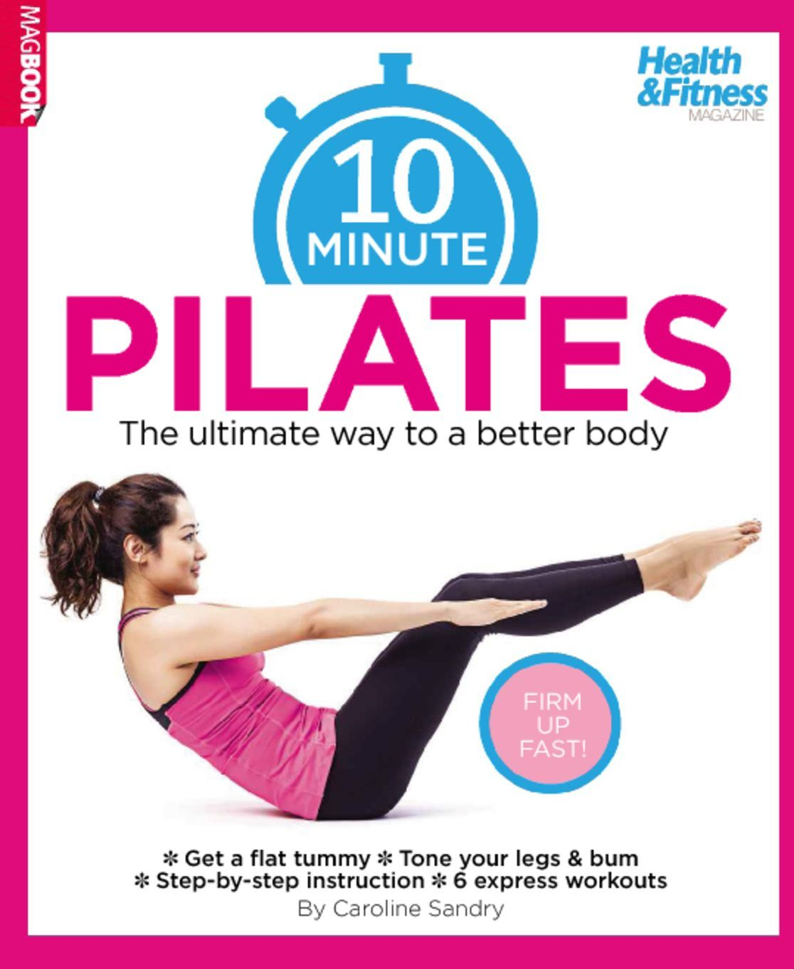 10 Minute Pilates Digital