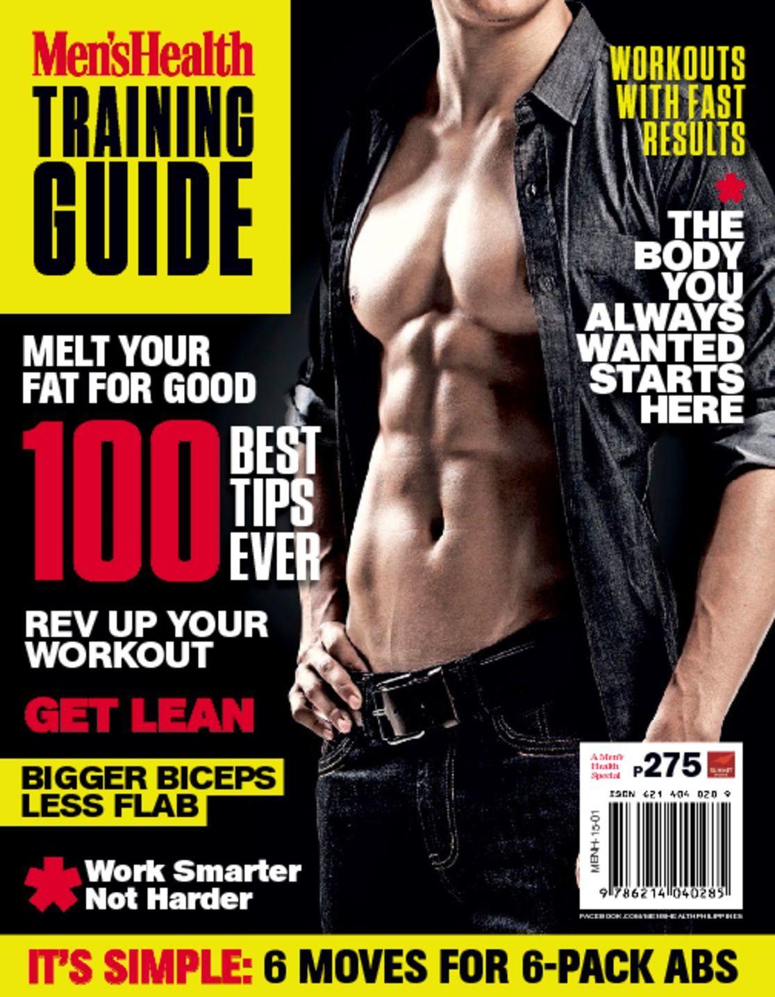 Men's Health Training Guide (Digital)