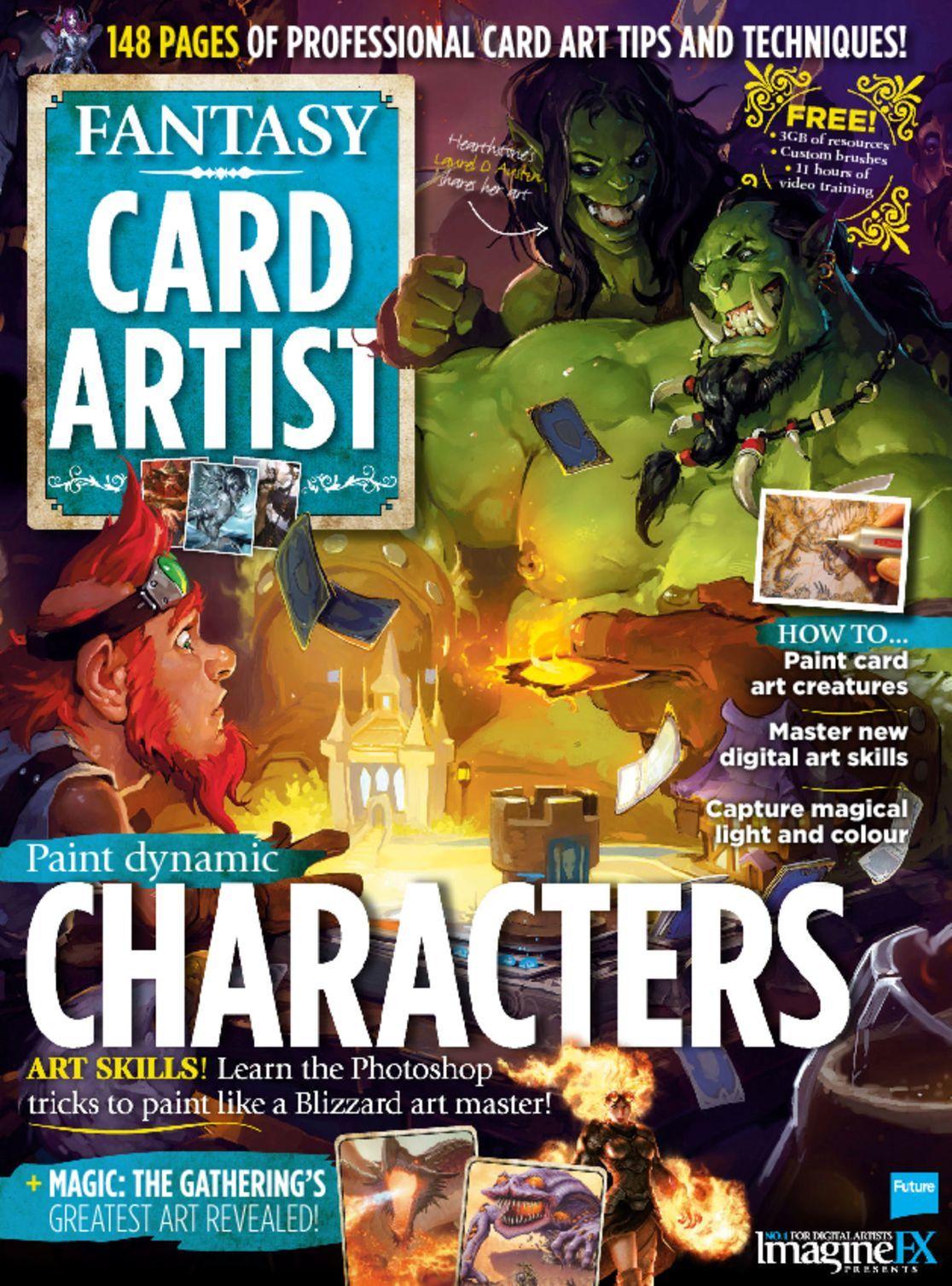 Imagine FX Presents Card Artist Digital