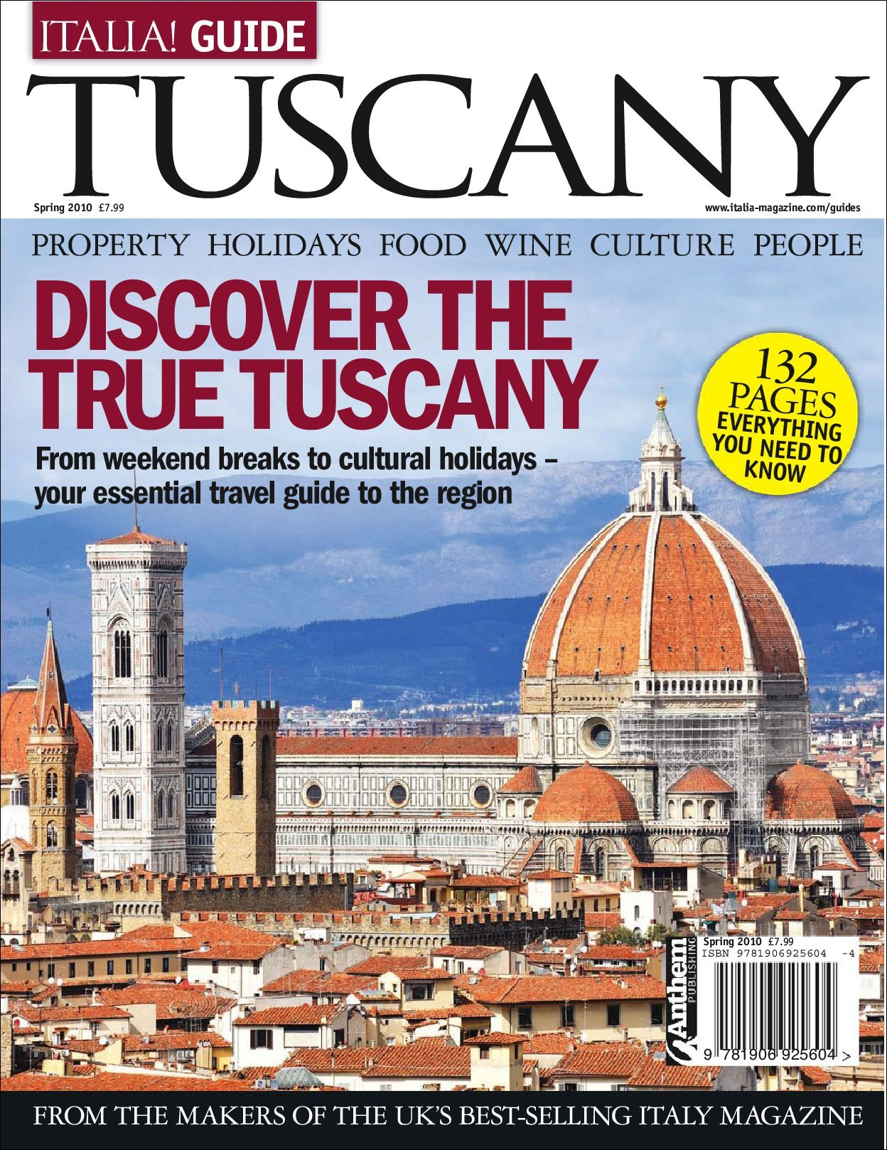 Italia! Guide to Tuscany (Digital)