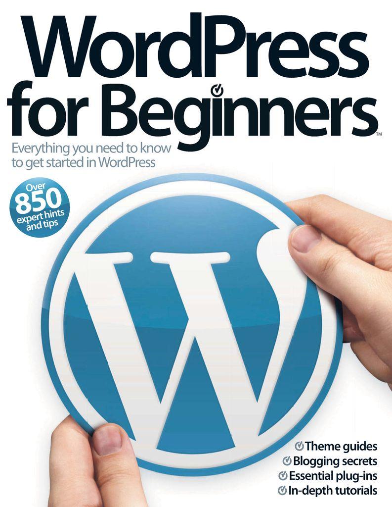Wordpress For Beginners Vol 1 (Digital)