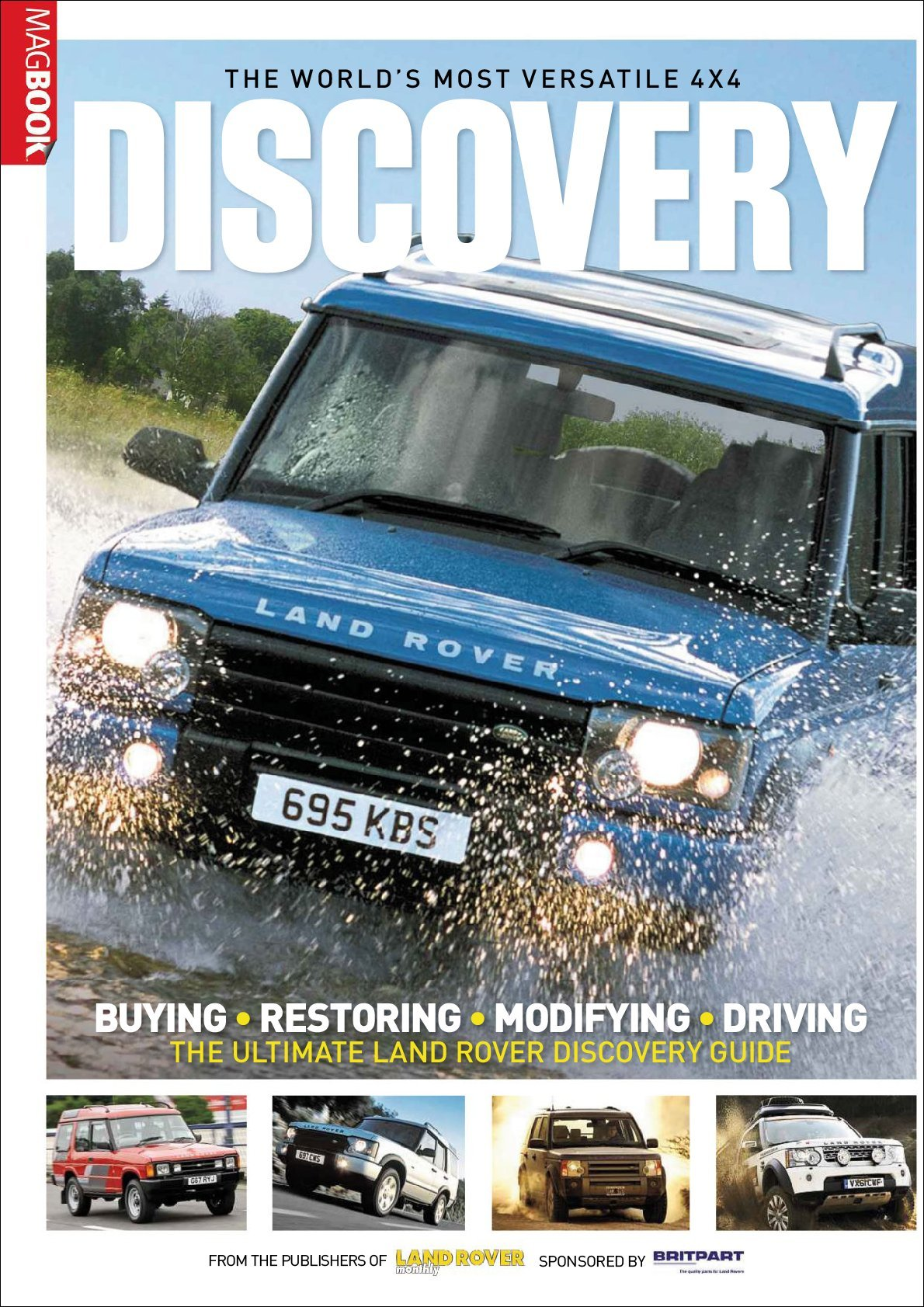 Landrover Discovery MagBook Digital
