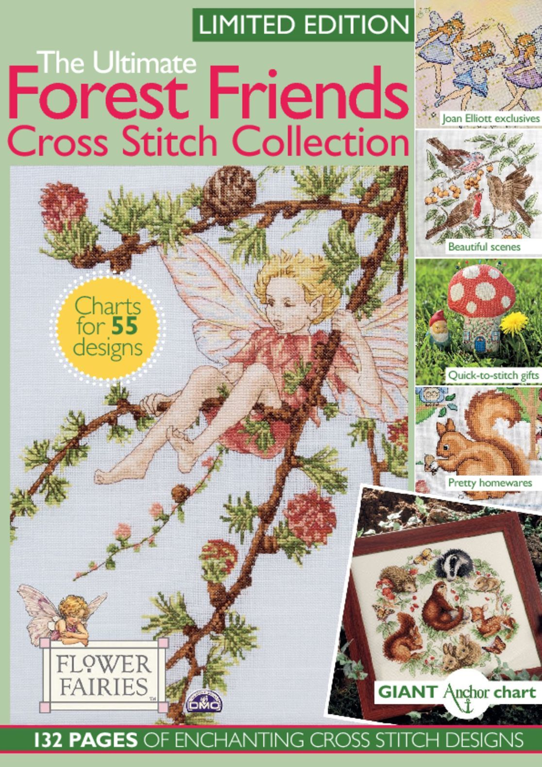 The Ultimate Forest Friends Cross Stitch Collection Digital