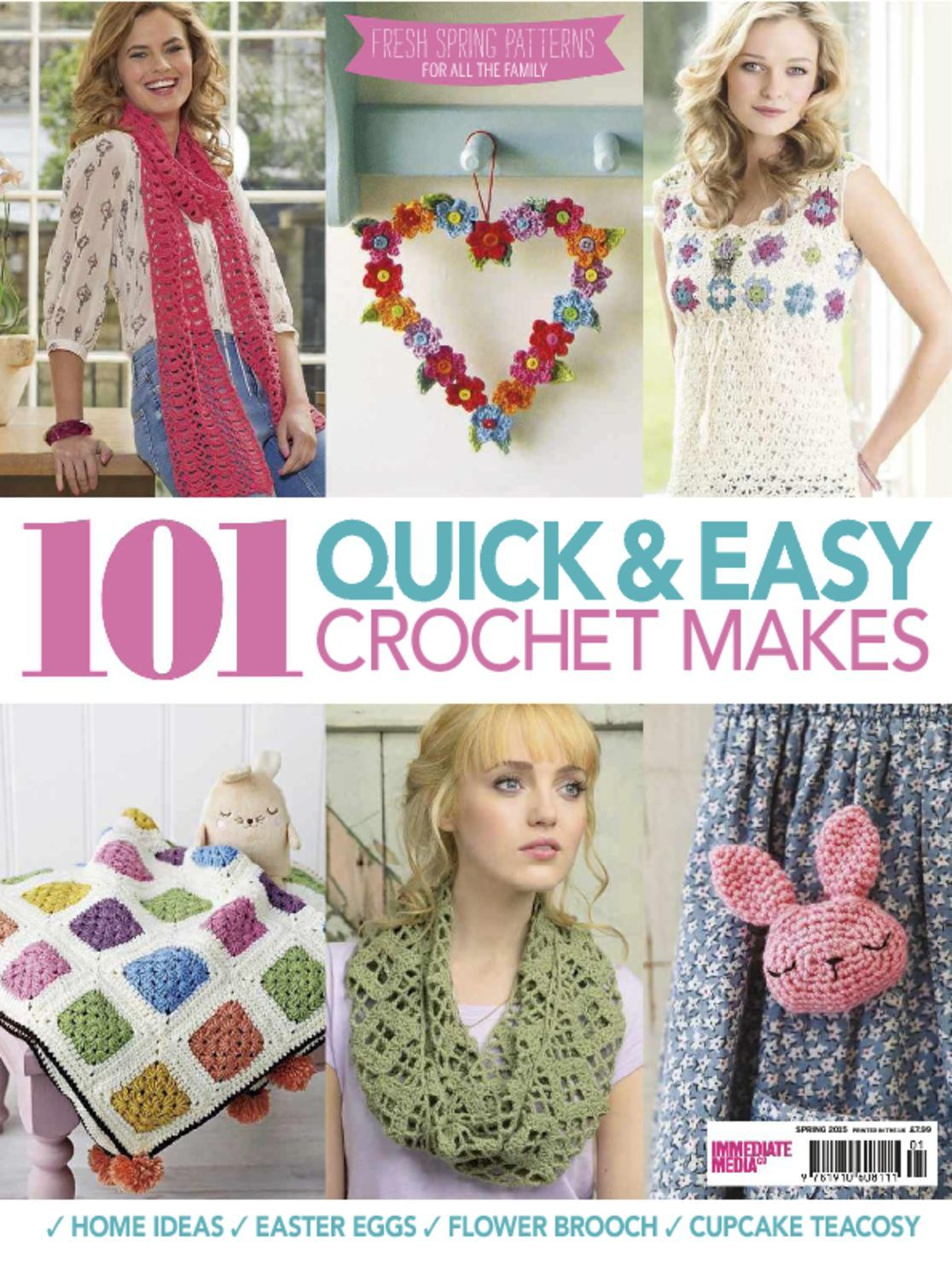 101 Quick Easy Crochet Makes Digital