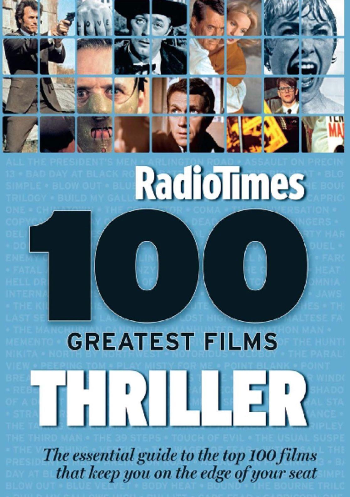 100 Greatest Thriller Movies by Radio Times Digital