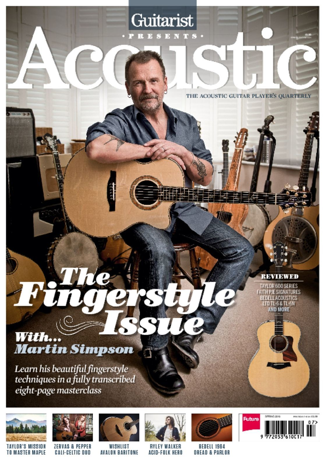 Acoustic Sprint 2015 The Fingerstyle Issue Digital