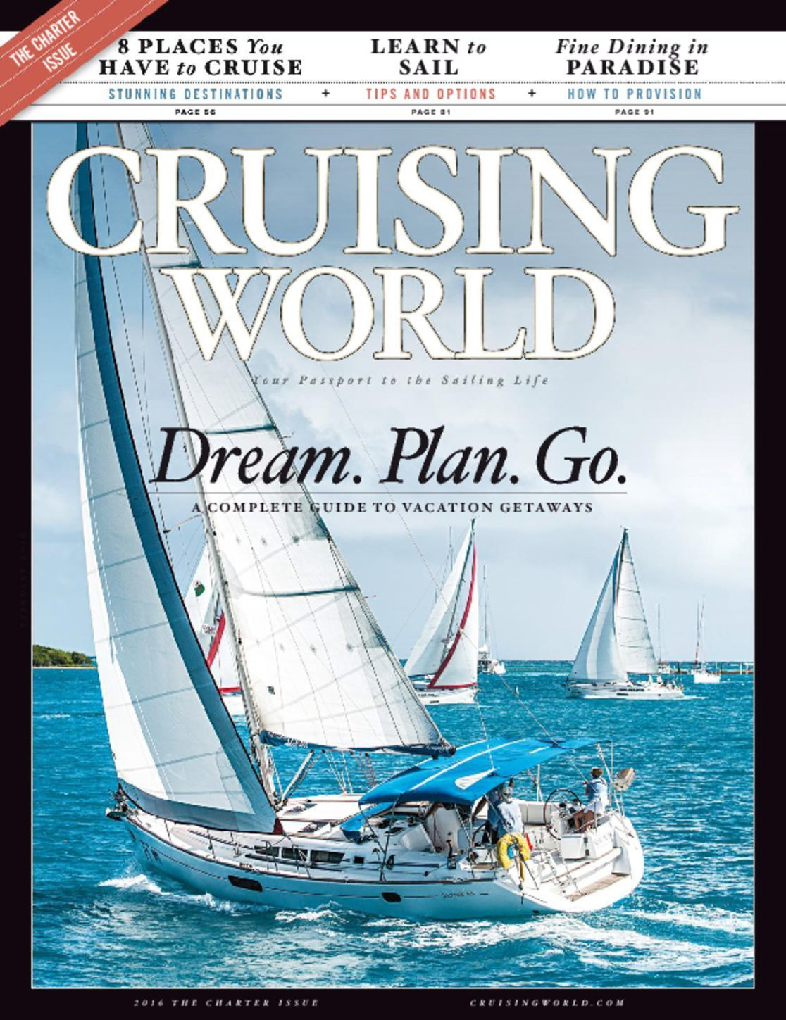 Cruising World the Charter Issue Digital